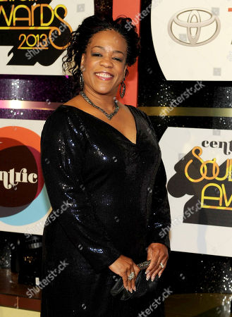Stock Image of Singer Evelyn 'Champagne' King arrives at the 2013 Soul Train Awards at the Orleans Arena on in Las Vegas