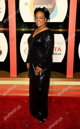 Singer Evelyn 'Champagne' King arrives at the 2013 Soul Train Awards at the Orleans Arena on in Las Vegas