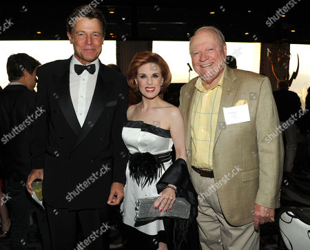 From left, Brett Stimely, Kat Kramer and Conrad Bachmann of the Academy attend the Academy of Television Arts & Sciences 2013 Performers Peer Group Reception on at the Sheraton Universal Hotel in Universal City, Calif