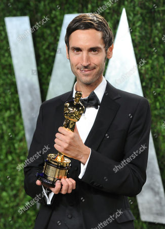 Director Malik Bendjelloul arrives at the 2013 Vanity Fair Oscars Viewing and After Party, at the Sunset Plaza Hotel in West Hollywood, Calif