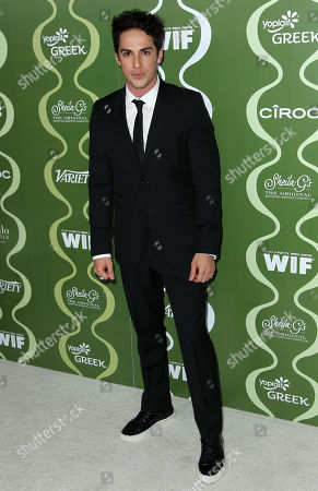 Michael Trevino arrives at the 2013 Women In Film pre-emmy event at Scarpetta at the Montage Hotel on in Beverly Hills, Calif