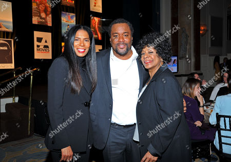 From left, Judy Smith, director Lee Daniels, and singer Merry Clayton are seen at the 2014 AARP's Movies for Grownups Gala, on Monday, Feb. 10th, 2014 in Beverly Hills, Calif