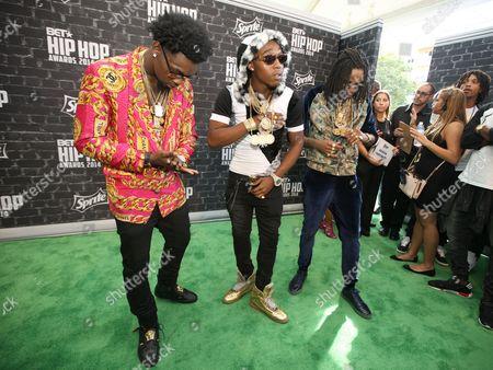 Editorial image of 2014 BET Hip Hop Awards - Arrivals - , Atlanta, USA - 20 Sep 2014