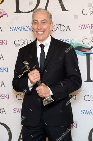 Stock Image of Paul Cavaco at the Winners Walk at the 2014 CFDA Fashion Awards, on in New York