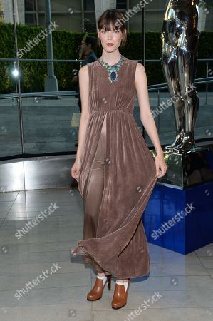 Editorial photo of 2014 CFDA Fashion Awards - Reception and Winner's Walk, New York, USA - 2 Jun 2014