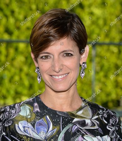 Cynthia Leive attends the 2014 CFDA Fashion Awards at Alice Tully Hall, in New York