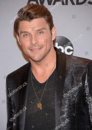 Stock Photo of Robby Johnson arrives at the 48th annual CMA Awards at the Bridgestone Arena, in Nashville, Tenn