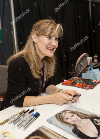Stock Picture of American voice actress Veronica Taylor at the Chicago Comic & Entertainment Expo at McCormick Place, in Chicago