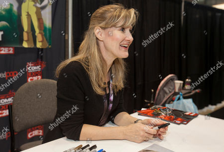 Stock Photo of American voice actress Veronica Taylor at the Chicago Comic & Entertainment Expo at McCormick Place, in Chicago