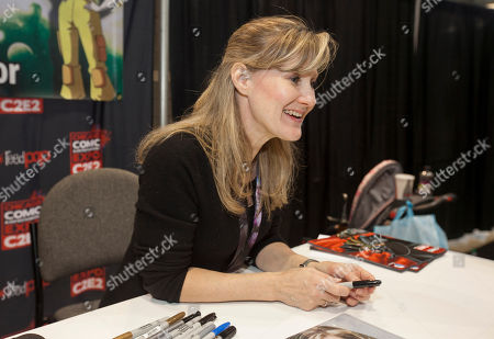 American voice actress Veronica Taylor at the Chicago Comic & Entertainment Expo at McCormick Place, in Chicago