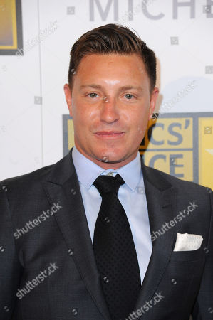Lane Garrison arrives at the Critics' Choice Television Awards at the Beverly Hilton Hotel, in Beverly Hills, Calif