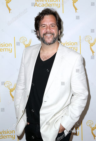 Dwayne Hill arrives at the 2014 Daytime Emmy Nominee Reception presented by the Television Academy at The London West Hollywood on
