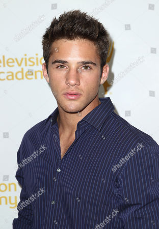 Casey Moss arrives at the 2014 Daytime Emmy Nominee Reception presented by the Television Academy at The London West Hollywood on