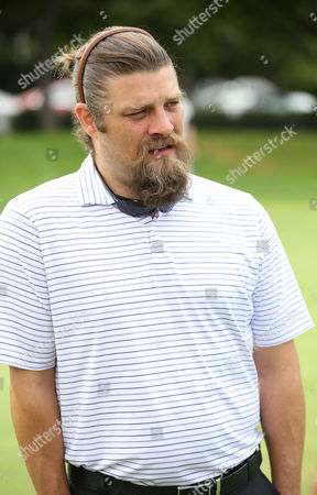 Jay Ferguson participates in a tournament at the 15th Emmys Golf Classic, presented by the Television Academy Foundation, at the Wilshire Country Club in Los Angeles