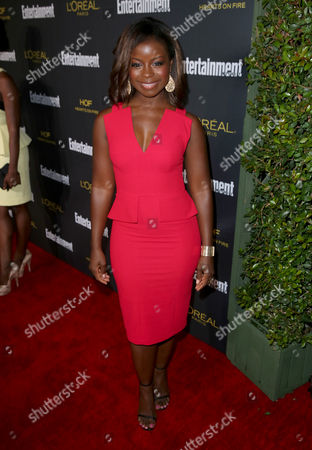 Erica Tazel arrives at Entertainment Weekly's Pre-Emmy Party sponsored by L'Oreal Paris and Hearts On Fire at Fig & Olive in West Hollywood, Calif. on