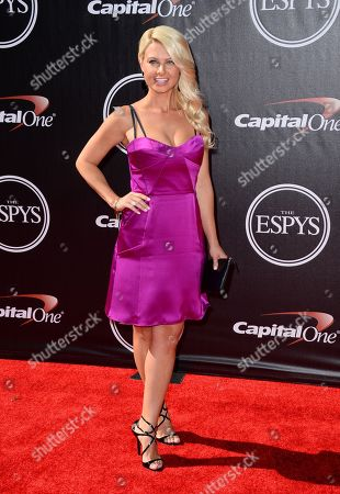 Stock Picture of Sportcaster Win McMurry arrives at the ESPY Awards at the Nokia Theatre, in Los Angeles