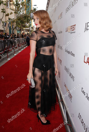 Erica Piccininni attends the Warner Bros. Premiere of 'Jersey Boys' at the 2014 Los Angeles Film Festival held at Regal Cinemas LA Live Stadium 14, in Los Angeles