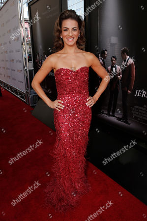 Renee Marino attends the Warner Bros. Premiere of 'Jersey Boys' at the 2014 Los Angeles Film Festival held at Regal Cinemas LA Live Stadium 14, in Los Angeles