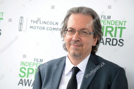 Bob Nelson arrives at the 2014 Film Independent Spirit Awards,, in Santa Monica, Calif