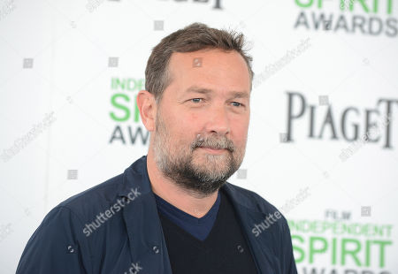 Stock Image of Phedon Papamichael arrives at the 2014 Film Independent Spirit Awards,, in Santa Monica, Calif