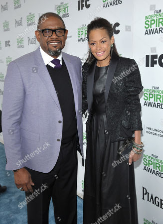 Forest Whitaker and Keisha Nash Whitaker arrives at the 2014 Film Independent Spirit Awards,, in Santa Monica, Calif
