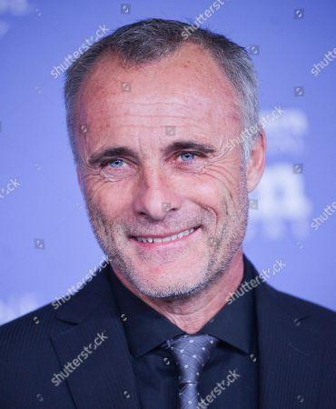 Timothy V. Murphy arrives at 2014 Santa Barbara International Film Festival - American Riviera Award ceremony on Friday, Feb, 7, 2014 in Santa Barbara, Calif