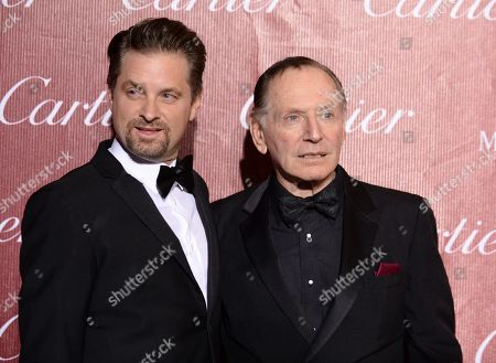 Shea Whigham, left, and Paul Herman arrive at the Palm Springs International Film Festival Awards Gala at the Palm Springs Convention Center, in Palm Springs, Calif