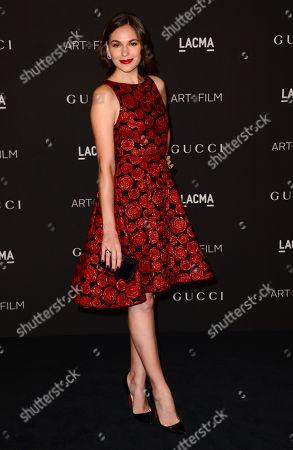 Jennifer Missoni arrives at the LACMA Art + Film Gala at LACMA, in Los Angeles