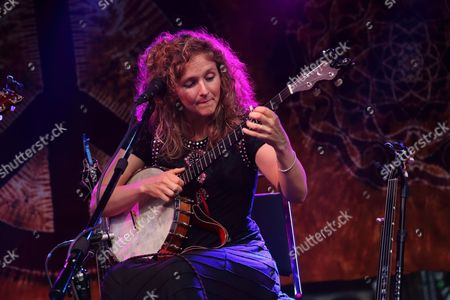 Abigail Washburn performs at Magnolia Fest at the Spirit of Suwannee Music Park in Live Oak Florida on