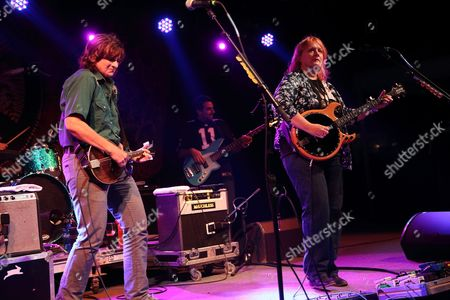 Amy Ray (L) and Emily Saliers and the Indigo Girls perform at Magnolia Fest at the Spirit of Suwannee Music Park in Live Oak Florida on