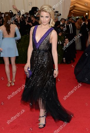 """Dianna Agron attends The Metropolitan Museum of Art's Costume Institute benefit gala celebrating """"Charles James: Beyond Fashion"""", in New York"""