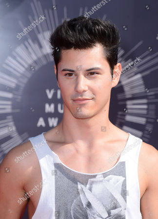 Stock Photo of Michael Willett arrives at the MTV Video Music Awards at The Forum, in Inglewood, Calif