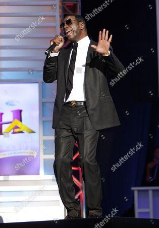 R&B/Soul singer Keith Sweat performed at the 2014 Neighborhood Awards held at the Philips Arena, in Atlanta, Ga