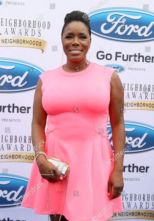 Actress and comedian Sommore walked the Ford blue carpet at the 2014 Neighborhood Awards held at the Philips Arena, in Atlanta, Ga