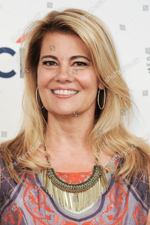 """Lisa Whelchel arrives at the 2014 PALEYFEST Fall TV Previews - """"The Facts Of Life"""" Reunion on Monday, Sept.15, 2014, in Beverly Hills, Calif"""