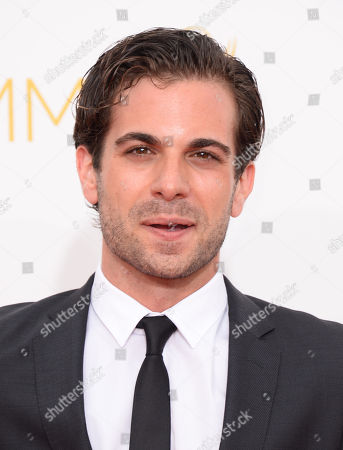 Frank De Julio arrives at the 66th Annual Primetime Emmy Awards at the Nokia Theatre L.A. Live, in Los Angeles