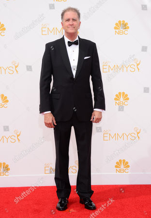 Allan Havey arrives at the 66th Annual Primetime Emmy Awards at the Nokia Theatre L.A. Live, in Los Angeles