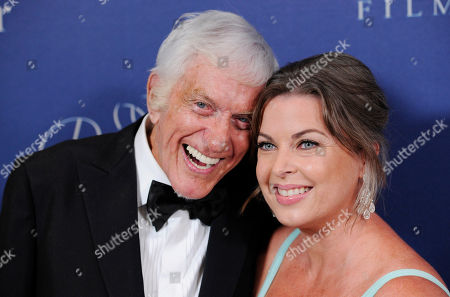 Prince Rainier III award recipient Dick Van Dyke, poses with his wife Arlene Silver, right, at the 2014 Princess Grace Awards Gala at the Beverly Wilshire Hotel, in Beverly Hills, Calif