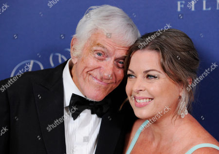Prince Rainier III Award recipient Dick Van Dyke and his wife Arlene Silver pose together at the 2014 Princess Grace Awards Gala at the Beverly Wilshire Hotel, in Beverly Hills, Calif