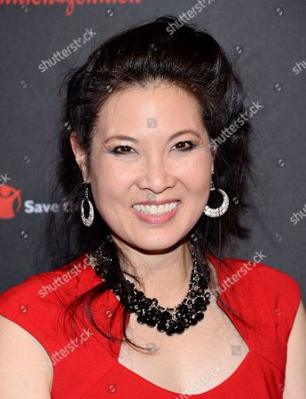 Stock Image of Journalist Sheryl WuDunn attends the 2nd Annual Save the Children Illumination Gala at The Plaza Hotel, in New York