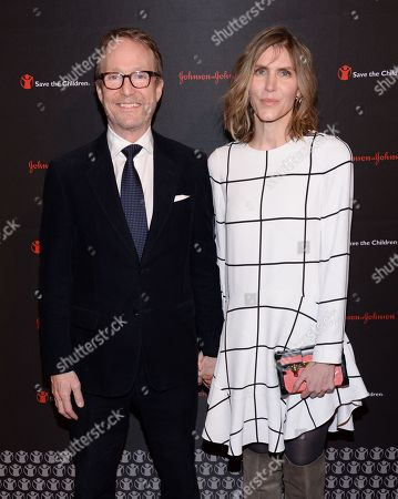 Austin Hearst and wife Gabriela Perezutti Hearst attend the 2nd Annual Save the Children Illumination Gala at The Plaza Hotel, in New York