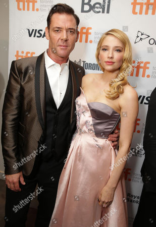 """Stock Photo of Marton Csokas and Haley Bennett seen at Columbia Pictures Premiere of """"The Equalizer"""" at 2014 TIFF, in Toronto"""
