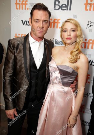 """Stock Picture of Marton Csokas and Haley Bennett seen at Columbia Pictures Premiere of """"The Equalizer"""" at 2014 TIFF, in Toronto"""