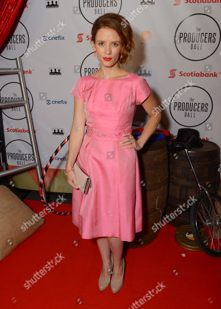 Lara Jean Chorostecki attends the Producers Ball at the Royal Ontario Museum, in Toronto