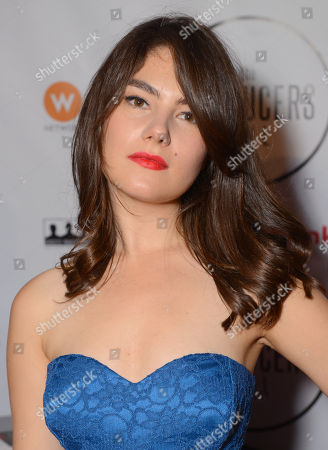 Katie Boland attends the Producers Ball at the Royal Ontario Museum, in Toronto