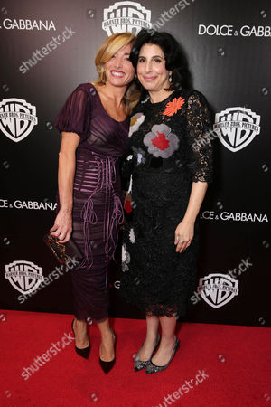 Federica Marchionni, President of Dolce & Gabbana Inc. USA and Sue Kroll, President of Worldwide Marketing and International Distribution at Warner Bros. Pictures seen at Warner Bros. Pictures/Dolce&Gabbana cocktail party hosted by Sue Kroll and Greg Silverman at the Toronto International Film Festival, in Toronto