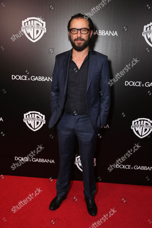 Ola Rapace seen at Warner Bros. Pictures/Dolce&Gabbana cocktail party hosted by Sue Kroll and Greg Silverman at the Toronto International Film Festival, in Toronto