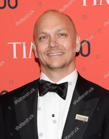 Tony Fadell arrives at the 2014 TIME 100 Gala held at Frederick P. Rose Hall, Jazz at Lincoln Center on in New York