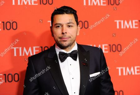 Ayman Mohyeldin arrives at the 2014 TIME 100 Gala held at Frederick P. Rose Hall, Jazz at Lincoln Center on in New York