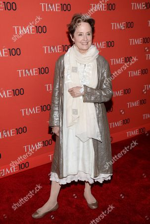 Alice Waters arrives at the 2014 TIME 100 Gala held at Frederick P. Rose Hall, Jazz at Lincoln Center on in New York